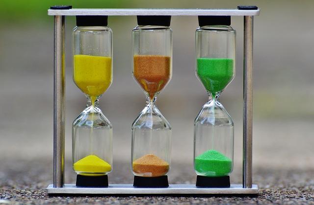 砂時計-時間は有限