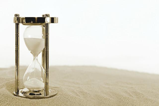 砂の上の砂時計